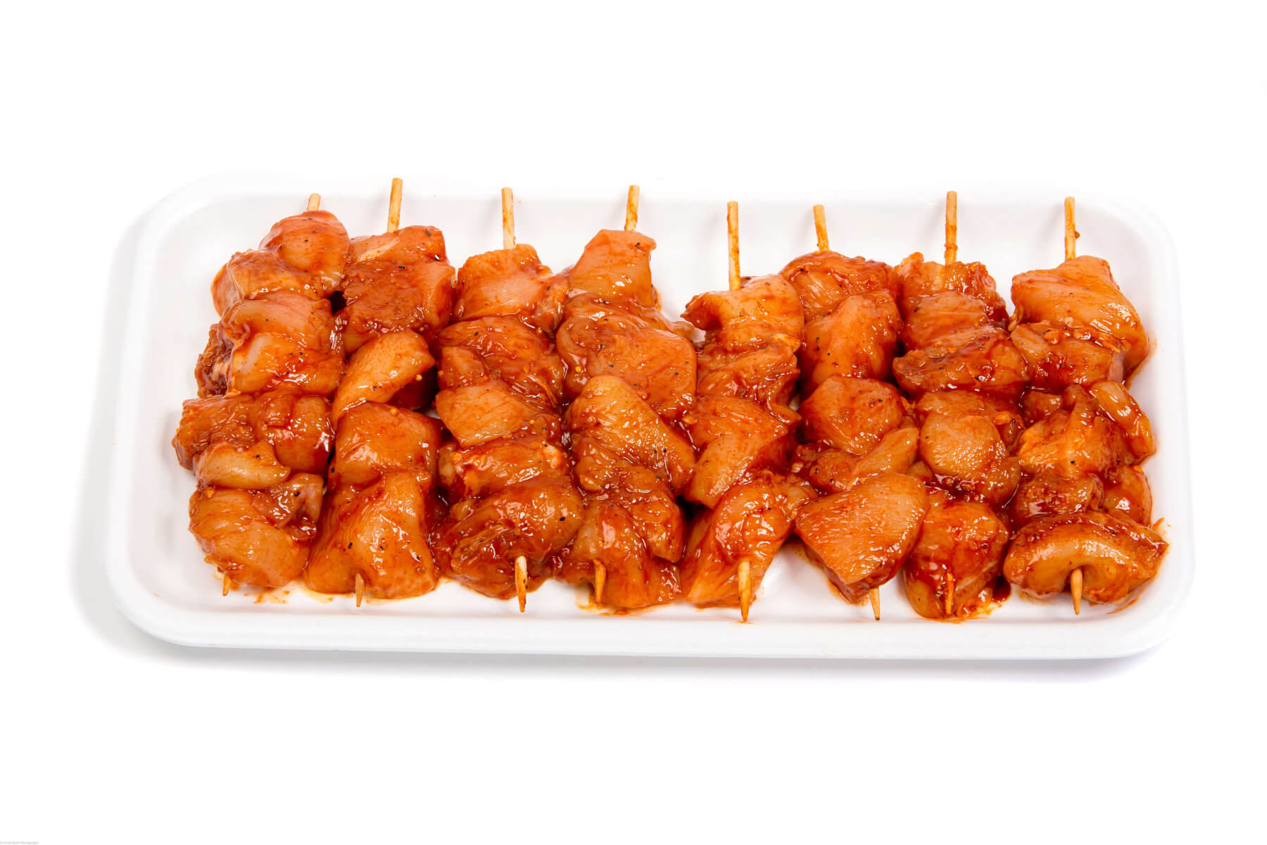 Marco's Own Famous BBQ Chicken Kabobs