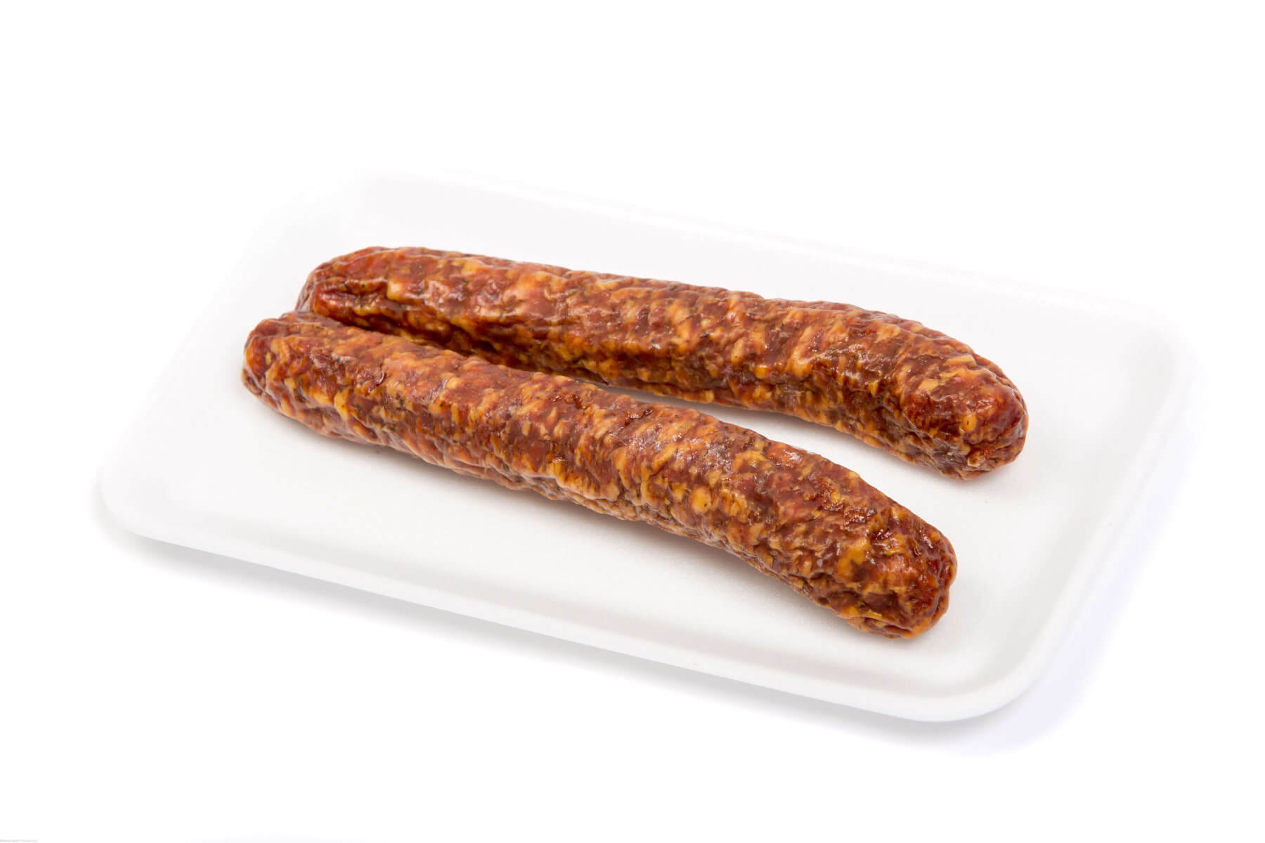 Marcos Own Famous Hunter Garlic Cured Sausage