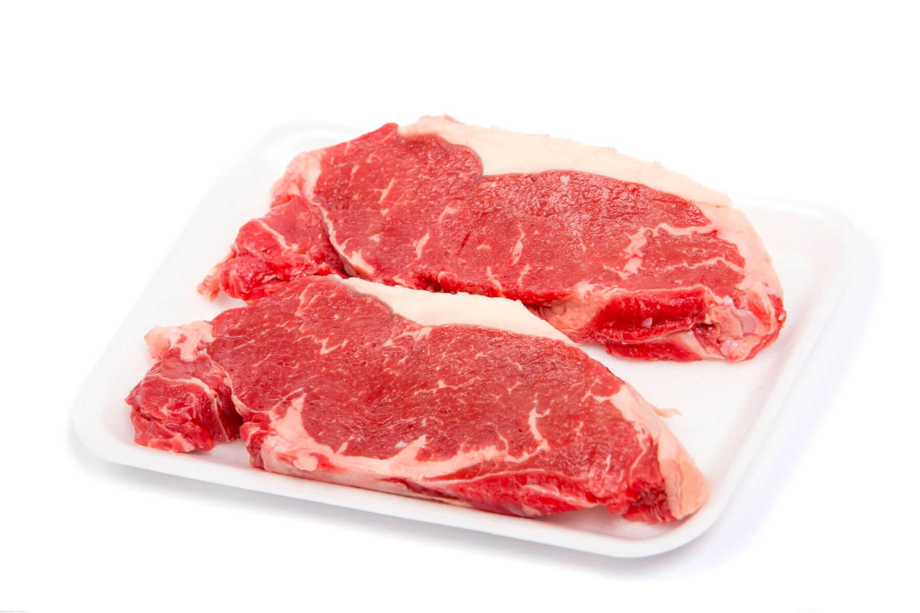 New York Striploin Steaks - Canada AAA Beef