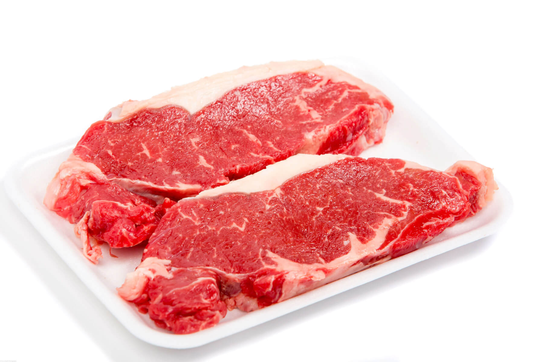 """Prime Grade"" New York Striploin Steaks"